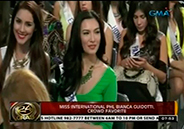 Philippine bet Bianca Guidotti is early favorite in Miss International