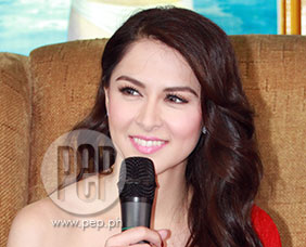 Marian Rivera happy about talent fee for posing as Ginebra calendar gi