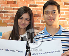 PEPtalk. Janine Gutierrez says Elmo Magalona is very caring