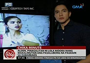 Did Yaya Dub use own voice in talking to Alden Richards?