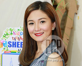 Sheena Halili waits patiently for Mr. Right