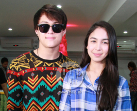 Julia Barretto and Enrique Gil talk about preparations for Mira Bella