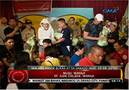 Marian and Dingdong distribute relief goods to typhoon victims