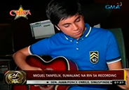 Miguel Tanfelix ventures into recording