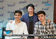 Kobe and Andre Paras are now Kapuso artists