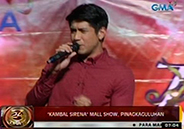 Fans attend Kambal Sirena mall show