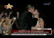 Sen. Chiz Escudero's wedding proposal to Heart Evangelista has her dad