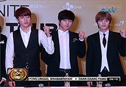 K-pop group Infinite sings for fans in Smart Araneta Coliseum