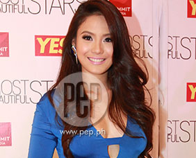 "Ritz Azul on making it to ""YES! 100 Most Beautiful"" list:"