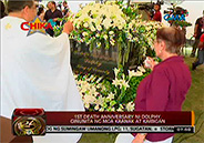 Family and close friends commemorate first death anniversary of Dolphy