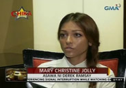 Mary Christine Jolly insists child support she demands from Derek Rams