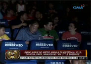 PNoy watches My Little Bossings on opening day of Metro Manila Film Fe