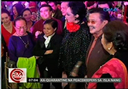 Stars from the '50s, '60s and '70s party with Joseph Estrada