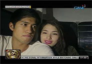 Kylie Padilla and Aljur Abrenica celebrate Valentine's Day in Tagaytay
