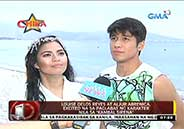 """Kambal Sirena"" stars promote beauty of Philippine marine"