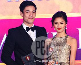 The PEP List awards: Kim Chiu and Xian Lim