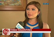 Thea Tolentino thanks Willie Revillame for helping her buy her first c