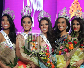 Binibining Pilipinas 2014 winners confident in bringing home internati