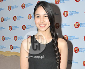 Julia Barretto says that she's prioritizing school and work now