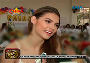 Rhian Ramos celebrates birthday with elderly