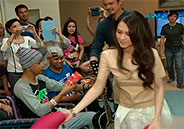 Marian Rivera and Dingdong Dantes spend time with sick children