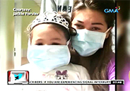 Jackie Forster's daughter Caleigh battles leukemia
