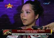 Saab Magalona punched on the head by drunk man