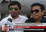 Manny Pacquiao impressed by success of Alden Richards and Eat Bulaga!