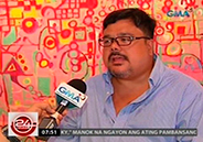 Former matinee idol Dranreb Belleza opens up about life in art exhibit