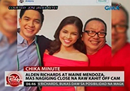 Alden Richards admits getting really close with Maine Mendoza