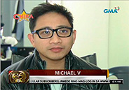 Michael V. overcomes dengue fever