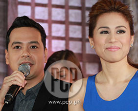 Toni Gonzaga and John Lloyd Cruz react to
