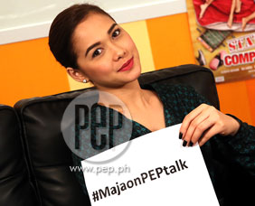 PEPtalk. Maja Salvador says status of lovelife is not complicated