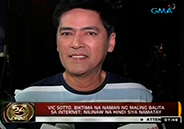 News about death of Vic Sotto, a hoax
