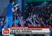 Alden Richards gets greeted by huge crowd in Iloilo