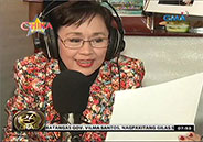 Vilma Santos recites a poem for husband Ralph Recto
