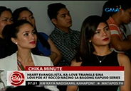 Heart Evangelista in a love triangle with Lovi Poe and Rocco Nacino in