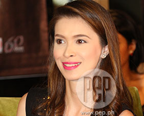 Sunshine Cruz says that she feels happy and blessed right now