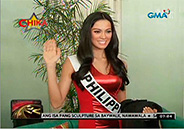 Ariella Arida fly to Russia for Miss Universe pageant