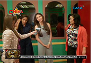 Jennylyn Mercado shows the set of reality show