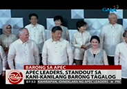 APEC leaders stand out wearing Barong Tagalog