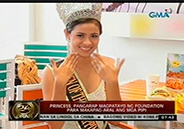 Deaf-mute girl wins in beauty pageant
