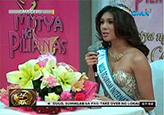 Miss Tourism International 2013-2014 Angeli Dione Gomez: homecoming in