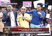 Wally Bayola returns to Eat Bulaga!; apologizes to Dabarkads and viewe