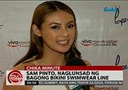 Sam Pinto launches new bikini swimwear line