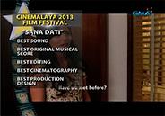 Big winners at 2013 Cinemalaya Awards Night