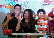 """Binoy Henyo"" cast spends time with fans via mall show"