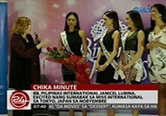 Bb. Pilipinas International Janicel Lubina, excited to compete in Miss