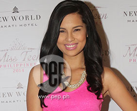 Jasmine Curtis happy to be Miss Teen Philippines ambassador