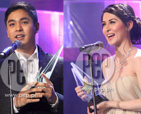 Interviews with Star Awards for TV 2013 winners Coco Martin, Marian Ri